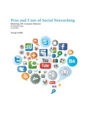 Pros and Cons of Social Networking