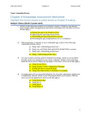 Chapter 9 Test Docx 1 Which Of The Following Methods Are Available To Deploy A Windows App That Has Been Created Within An Organization And Needs To Course Hero