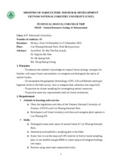 Manual for field trip (NR220) (1)