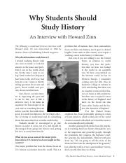 Zinn - Why Students Should Study History(1) (1).pdf
