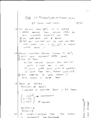 math 208 solving linear systems
