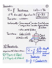 Resistivity / Power