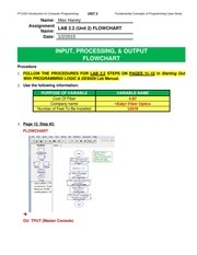 Unit 2-Lab 2.2 Flowchart PT-1420