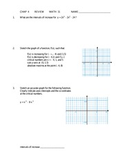 Ch 4 Linear Inequalities Review Assignment Answers