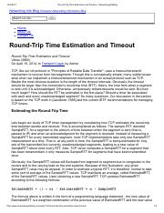 Round-Trip Time Estimation and Timeout - NetworkingInfoBlog.pdf