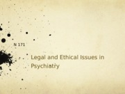 1 Legal and Ethical Issues in Psychiatry-1