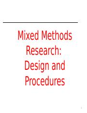 Mixed method.ppt
