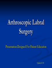 Arthroscopic Labral Surgery.pdf