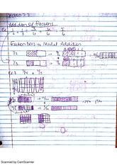 addition subtraction and division of fractions notes