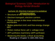 Lecture 13 (Sept 21) 2012