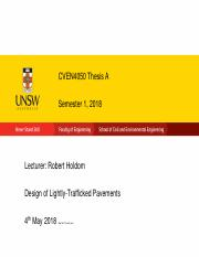 cven thesis unsw