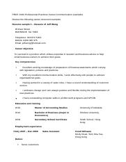PROF 2000 Workshop 12 resume and letter examples.docx