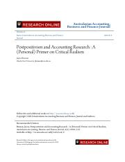Postpositivism and Accounting Research.pdf