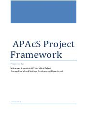 APAcS Framework Project Management (3)