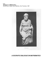 Socratic Dialogue On Mathematics