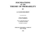 Foundations of the Theory of Probability - A.N. KOLMOGOROV