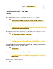 Video Lesson Worksheet_ch6