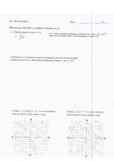 Benchmark #3 Review Worksheet