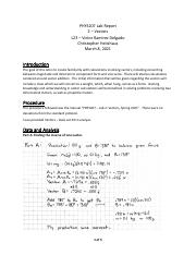 PHYS207 Lab Report - Vectors.pdf