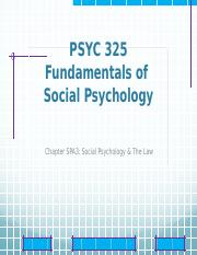 updatedChapter SPA3 - Social Psychology  The Law.pptx