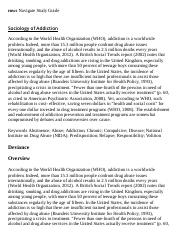 Sociology of Addiction Research Paper Starter - eNotes.pdf