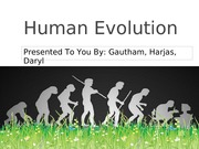 Human Evolution bio project
