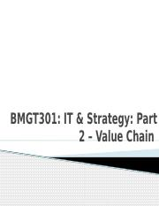 6 BMGT 301 Strategy  2  & 3- VCM and Five Forces copy.pptx