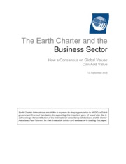 1- Earch Characor and-Busines sectors
