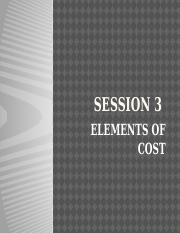 L3-Elements of Cost