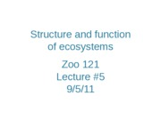 Zoo121-lecture-5