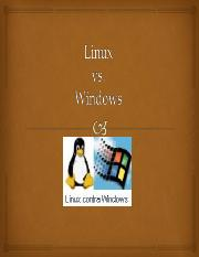 LinuxvsWindows.ppt