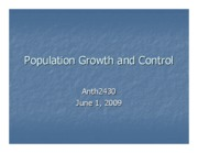 Microsoft PowerPoint - Population and Technology