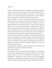 communications scenario essay In this essay, i am describing the importance of communication skills for students  why communication skills are important for school and.