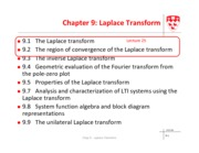 Module 5 Laplace transform - lecture 25
