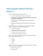 2015 01 14 Discussion Group Notes – Week 2