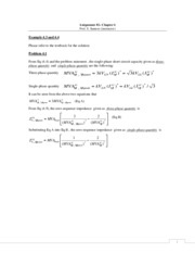 Solution Assignment 2 - Chapter 4