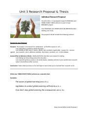 Unit3 Research Proposal(1)