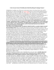 sample essay_globalization