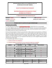 PC Training and Business College(Pty) Ltd (Richfield Graduate