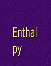 Enthalpy.ppt
