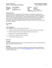 Syllabus-IST434 Global__Computing_Challenges Fall 2011