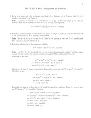 MATH135_S15_Assignment_10Soln