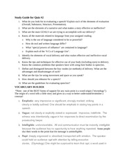 Study Guide for Qui1