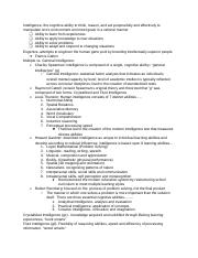 Study Guide- Intelligence and Linguistics.docx