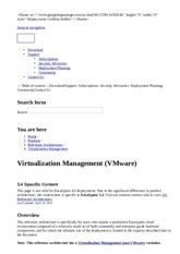 Virtualization Management (Vmware)   Eucalyptus