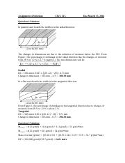 Assignment 4-Solutions-2014