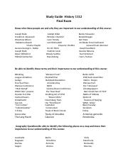 1112 Final Exam Study Guide Fall 2014.docx