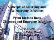 L7 & 8_Peiris on 20Feb13_L7 Concepts...infections & L8 From birds...infections