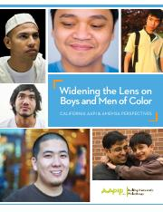 Widening the Lens on Boys and Men of Color