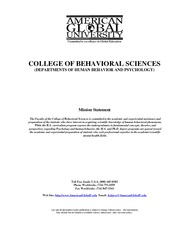 BehavioralSciences